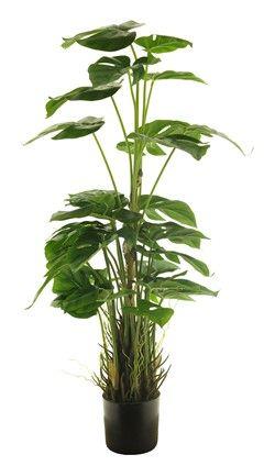 Kunstplant Philodendron squami in pot gr.91cm