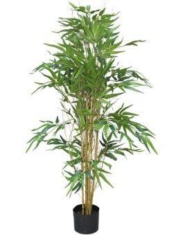 Kunstplant Bambusa Panda in pot 120cm