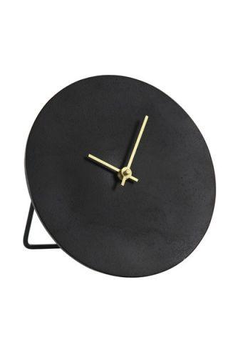 Klok antiek zwart Ø20 cm