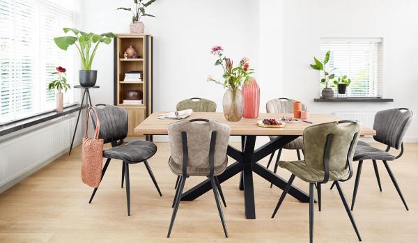 Het samenstellen van je eetkamer