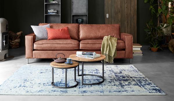 Welke meubels op een donkere vloer?